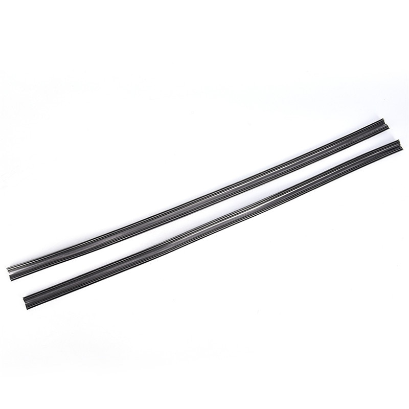 2pcs/lot Natural Rubber Bracketless Auto Car Soft Windshield Windscreen Wipers Universal Car Frameless Wiper Blade Refill CCC 28
