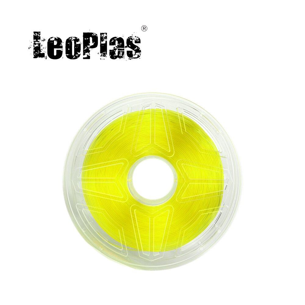 LeoPlas 0.5 كجم و 1 كجم 2.85 مللي متر خيوط Ultimaker PVA للطابعة ثلاثية الأبعاد مستهلكات مستلزمات الطباعة للذوبان في الماء مادة الدعم