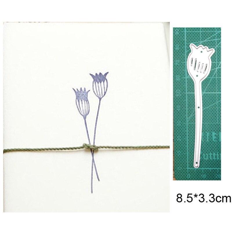Металлические штампы для рукоделия, вырезанные штампы, форма для цветов, растений, «сделай сам», скрапбукинг, штампы для бумаги, нож для руко...