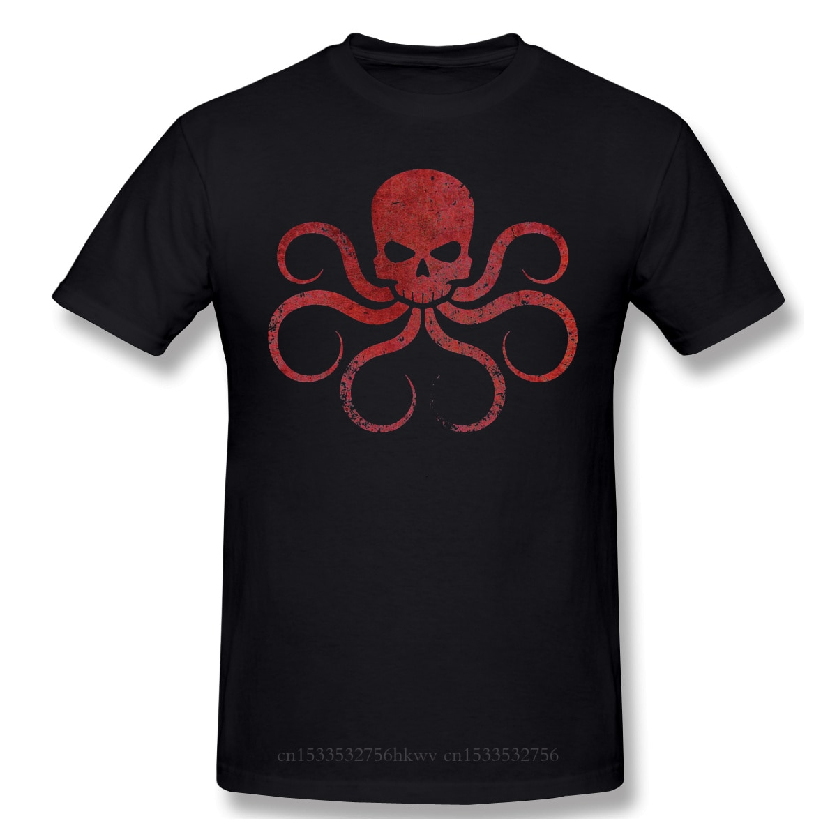 Grêle Hydra t-shirt blanc noir veuve film Natasha Romanoff imprimé t-shirt été grands t-shirts 2020