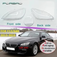 headlight lens cover for f12 640 2013 2016 headlamp clear auto shell cover replacement diy