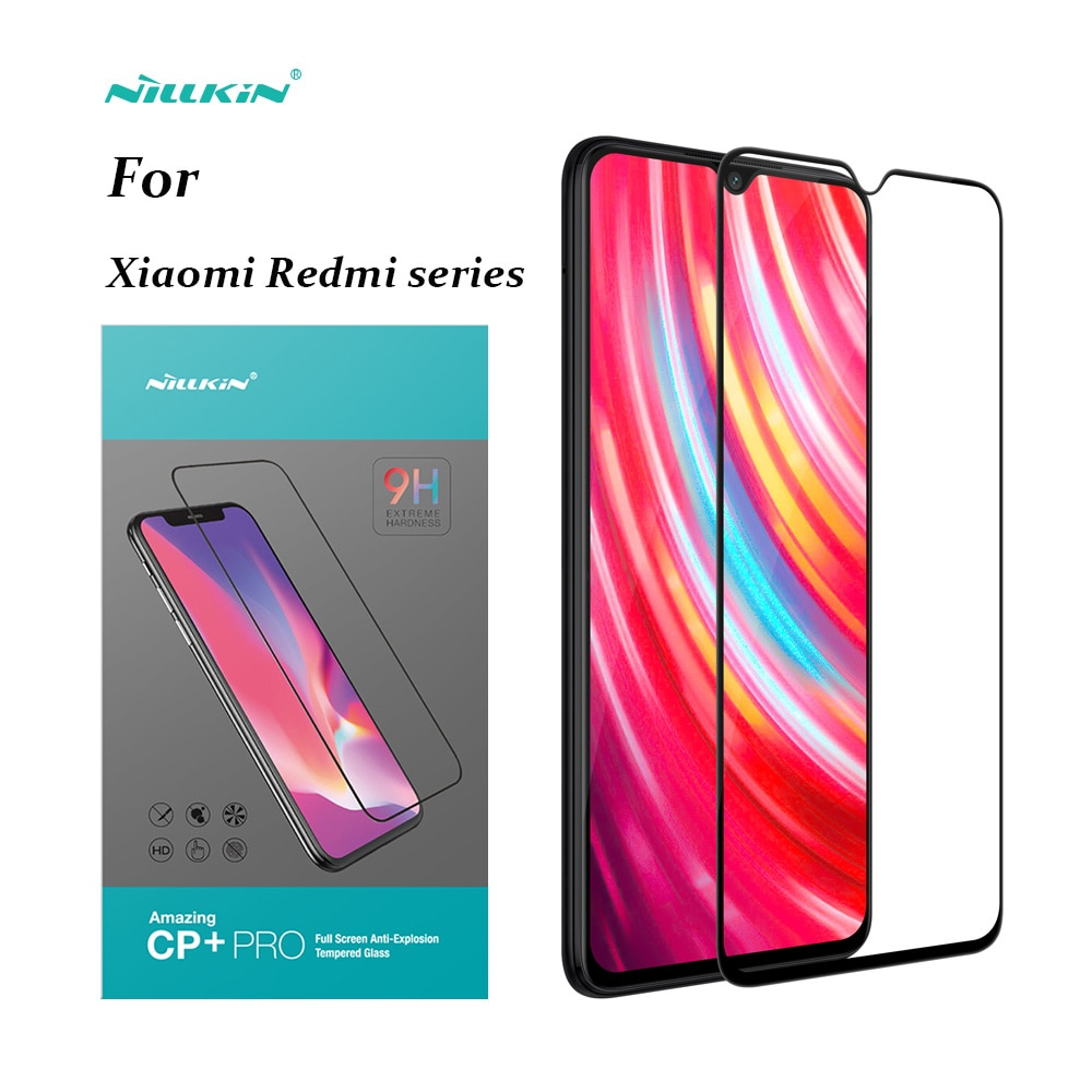 Защитное стекло NILLKIN для Xiaomi redmi note 9 Pro, полноэкранное закаленное стекло 9H для Redmi note 8/8t/7/K20/k30/8A
