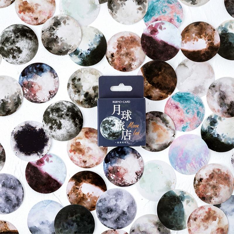 46-unids-caja-de-luna-inn-deco-pegatinas-bala-diario-accesorios-pegatinas-estetica-scrapbook-diy-decorativo-papeleria