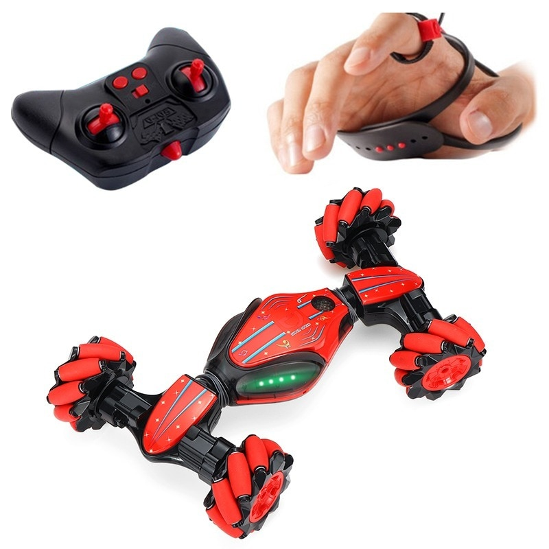 LBLA Stunt Gesture Remote Control RC Car twisting Off-Road Vehicle Drift Light Music Drift Radio Controlled Driving  Car Toys newest water and land amphibious remote control car large electric charge remote control off road vehicle drift children s toys