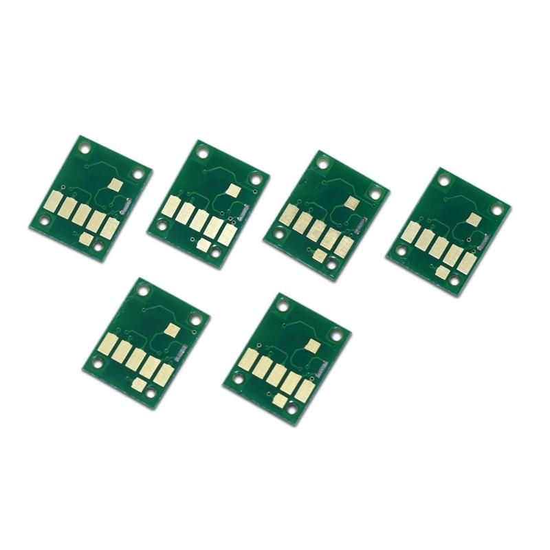 6Color PGI-450 CLI-451 Auto Reset Cartridge ARC Chip for Canon PIXMA MG6340 MG7140 iP8740 Printers