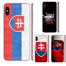 For HTC Desire 530 626 628 630 816 820 830 One A9 M7 M8 M9 M10 E9 U11 U12 Life Plus Colourful Style Sk Slovak Slovakia Flag