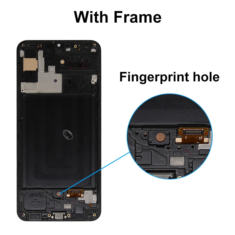 A30S Display Super AMOLED For Samsung Galaxy A30S A307F A307 A307FN LCD Touch Screen Digitizer Display Assembly Parts A307 LCD enlarge
