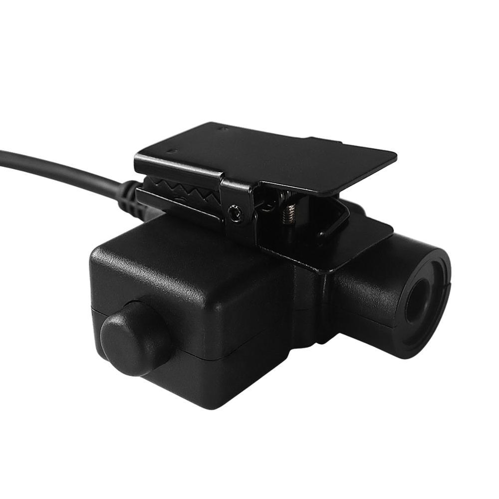 ICOM military adapter U94 PTT ICOM PTT tactical hunting equipment for walkie talkie   airsoft tactical headset U94 PTT ICOM Plug enlarge