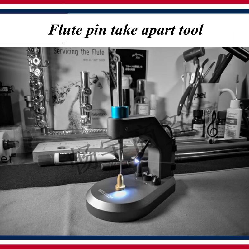 Wind instrument repair tool   Flute repair tool   Flute pin take apart tool   High-grade professional tools enlarge