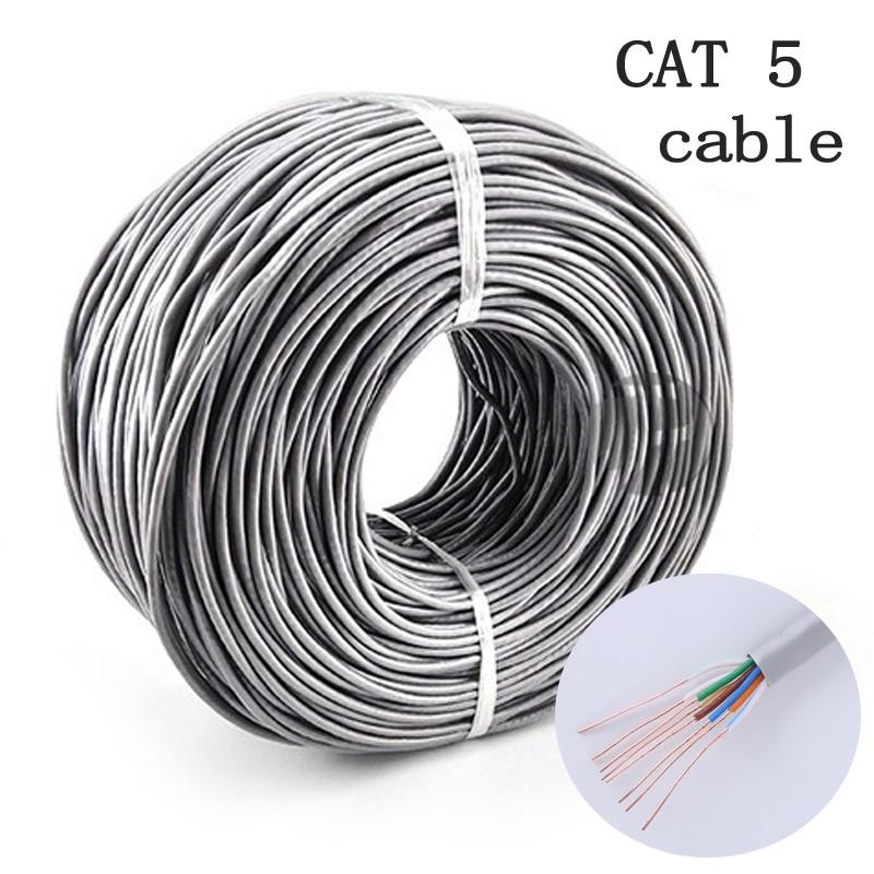 Cable Lan Ethernet CAT5 duradero, Cable de red UTP RJ45 de 10m/20m/30m...