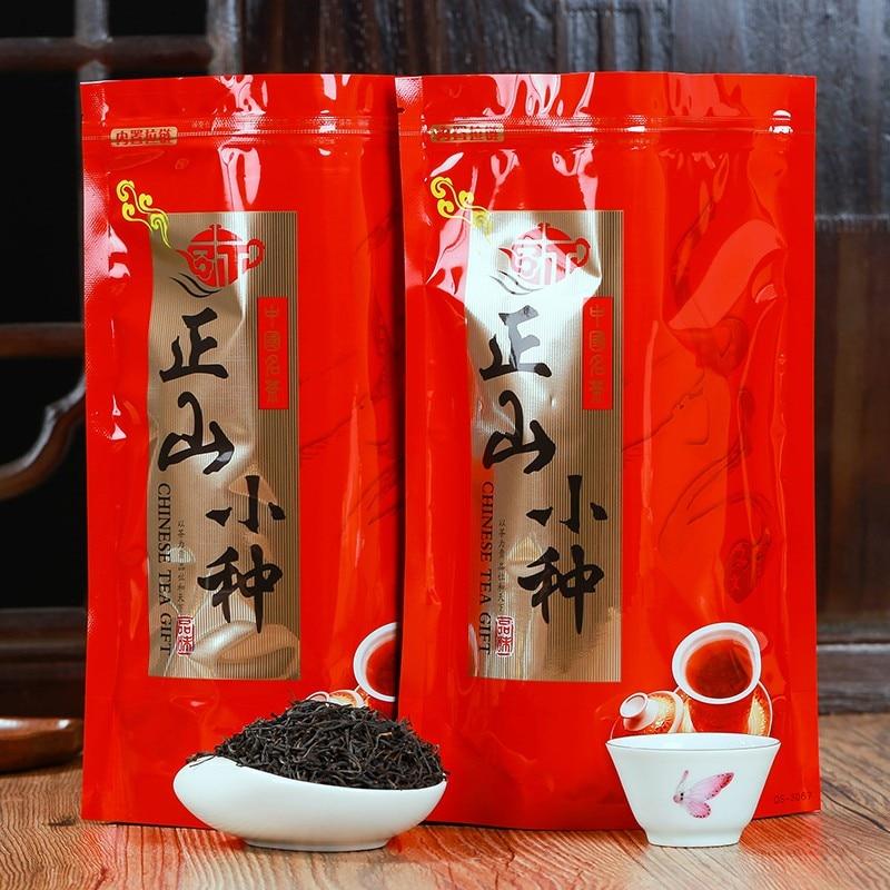 Chino Zhengshanxiaozhong Zheng shan xiao zhong té negro lapsang souchong 250g comida verde de alta calidad