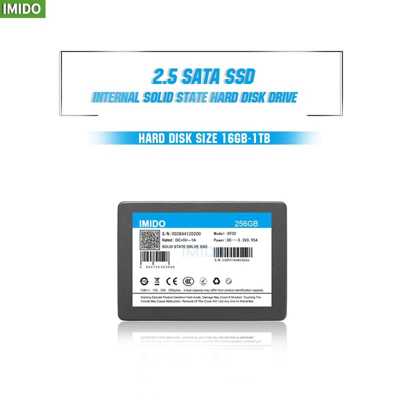 Твердотельный накопитель IMIDO SSD 32 ГБ, 60 Гб, 240 ГБ, 120 ГБ, 480 ГБ, 960 ГБ, ТБ, SSD 2,5, жесткий диск, твердотельные диски, внутренний SSD 2,5 ГБ, 256 ГБ