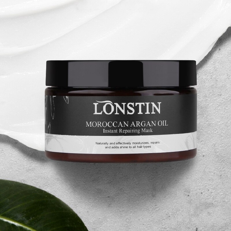 Купить с кэшбэком 300ml Repair Hair Mask Natural Hair Care Products Bulk Argan Oil  Smoothing Treatment Shiny Hair Conditioners