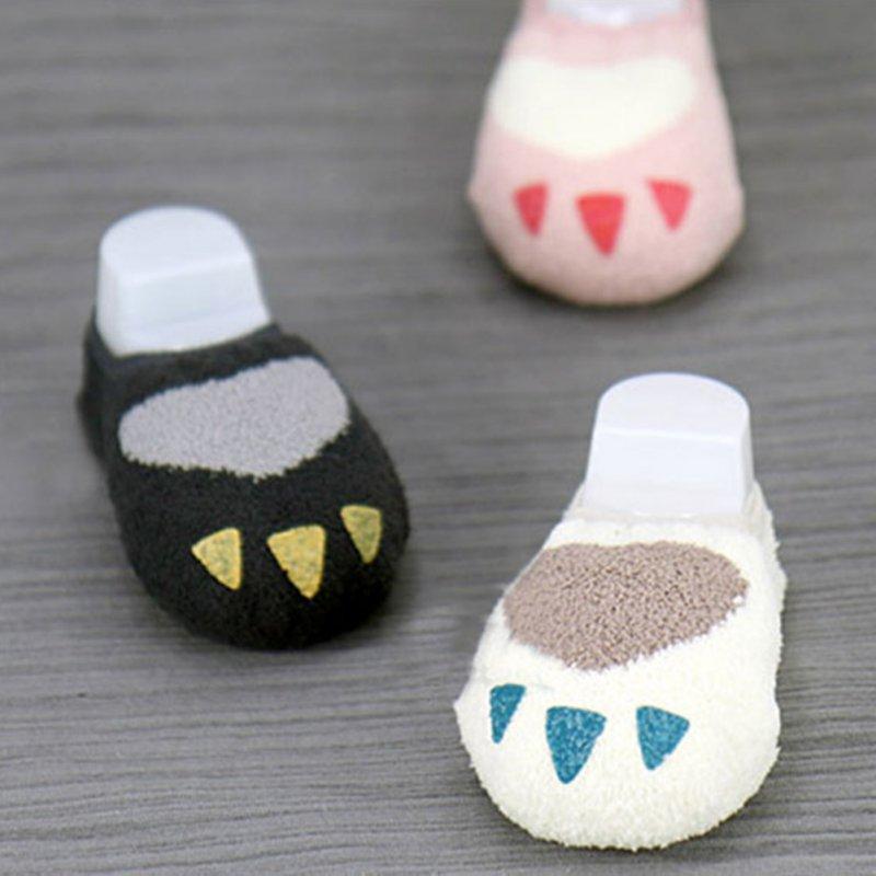 0-4Y Kleinkind Baby Kinder Mädchen Jungen Nette Non-slip Slipper Socken Infant Weiche Warme Korallen Samt Wärmer Socken Heißer