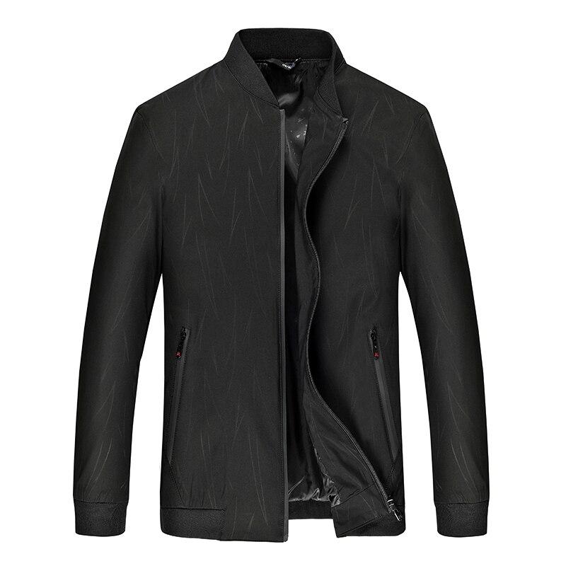 2020 otoño nuevo 10xl 8x cuello de Color de impresión de gran tamaño chaqueta de hombre de moda Casual suelta marca tendencia de Color de manga larga chaqueta de hombre
