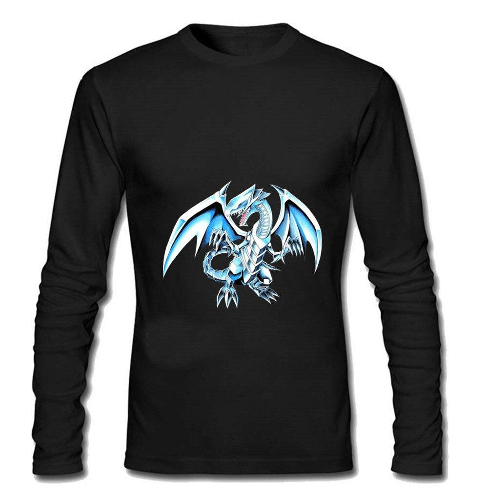 Camiseta de fútbol para hombre, camiseta blanca con estampado de Hip Hop de alta costura para gimnasio, camiseta de manga larga de dragón blanco con ojos azules Lil Peep