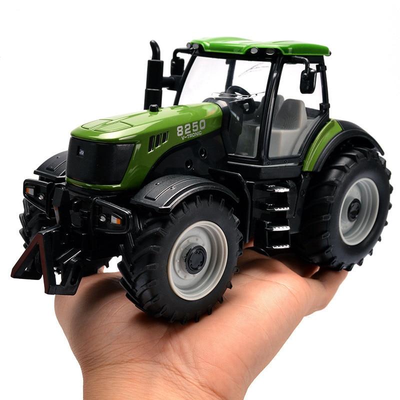 Tracteur de haute qualité 1:30 modèle en alliage moulé, modèle de voiture qrci, jouet informatique, ingénierie de simulation de son et de glissement en métal, livraison gratuite