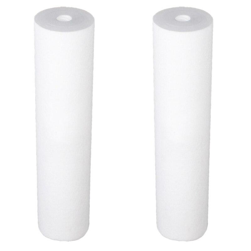 2 unids/set PP filtro de algodón filtro de agua purificador filtro 20 inchX 4,5 pulgadas polipropileno sedimento filtro de agua cartucho