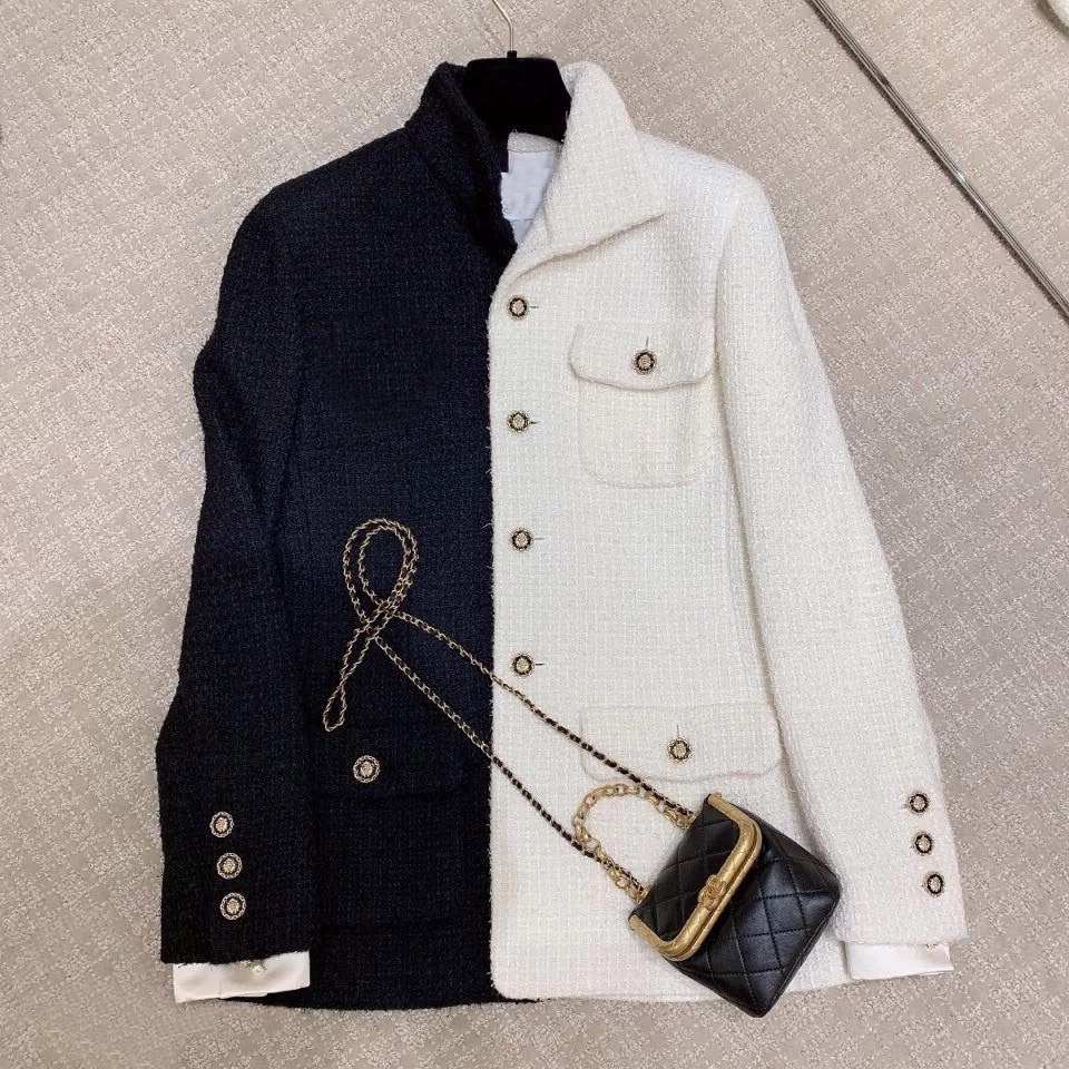 2020 العلامة التجارية مصمم المرأة مزدوجة الصدر الصوف معطف المرأة الخريف الشتاء متوسطة طويلة سترة امرأة