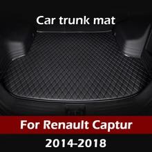 MIDOON коврик для багажника автомобиля для Renault Captur 2014 2015 2016 2017 2018 грузового лайнера ковры салонные аксессуары напольные покрытия