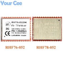 SX1276 SX1278 Module LoRa RHF76-052 RHF78-052 Module nœud LoRaWAN intégré STM32 433/470MHZ 868/915MHZ faible puissance longue Distance