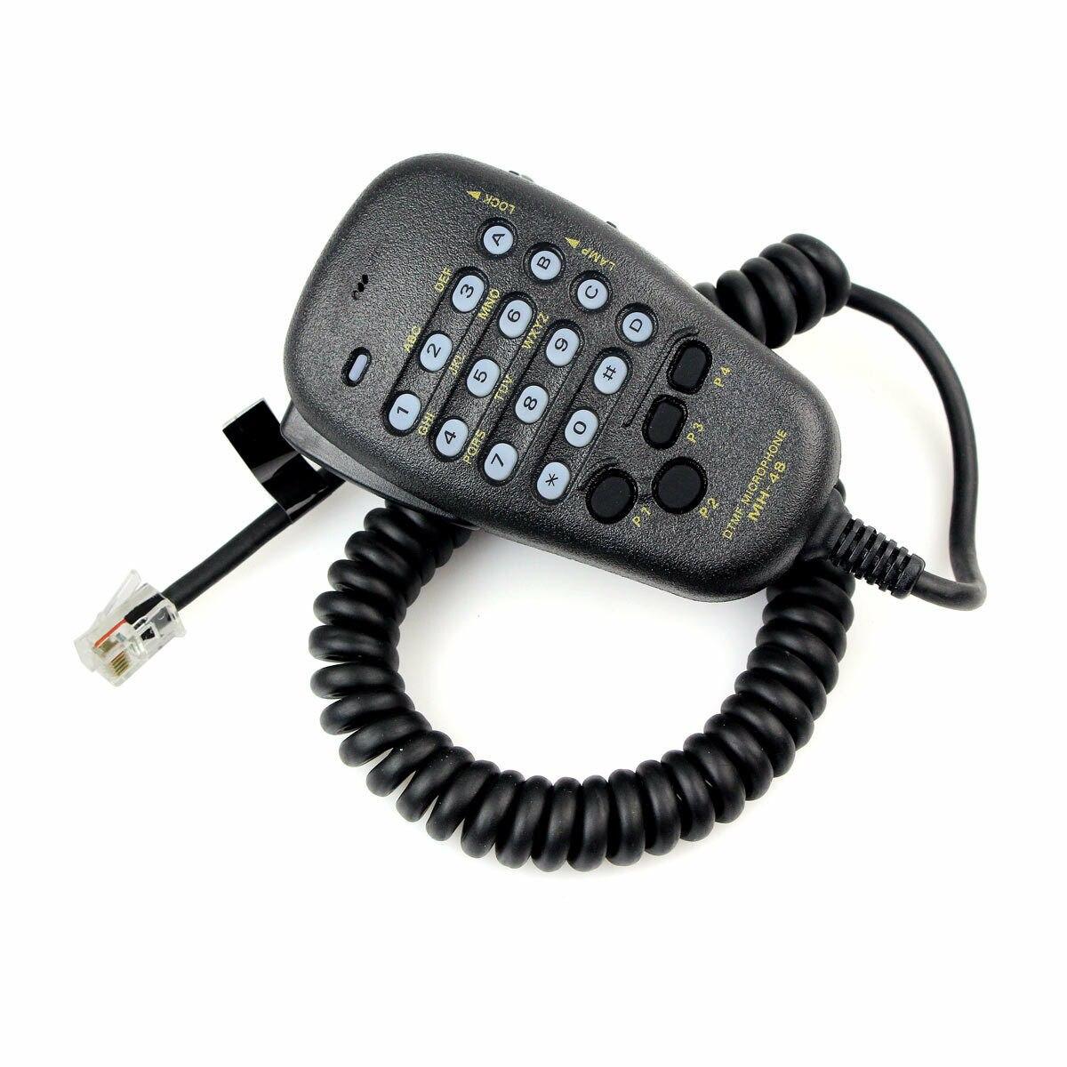 for FT-8800R FT-8900R FT-7900R FT-1807 FT-7800R FT-2900R FT-1900R DTMF Speaker For YAESU MH-48 MH-48A6J DTMF Speaker Microphone