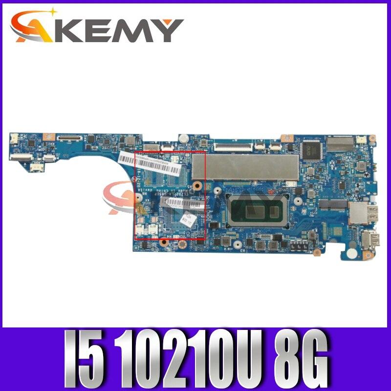 اللوحة الأم لينوفو S530-13IML الكمبيوتر المحمول اللوحة الأم FRU 5B20S43018 مع وحدة المعالجة المركزية I5 10210U RAM 8G 100% اختبار