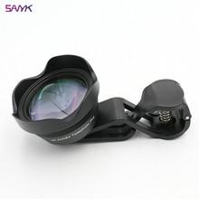 SANYK 4K HD 65mm Telephoto Lens Portrait  Lens Blur Background Mobile Phone  Lens External Lenses Fo