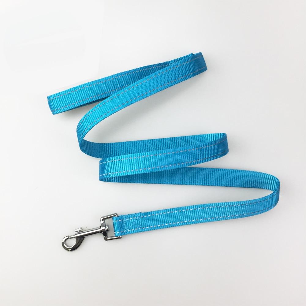 Correa de perro 120 cm/150 cm, resistente, correa reflectante para caminar perros pequeños grandes mango de malla cómodo para usar collares