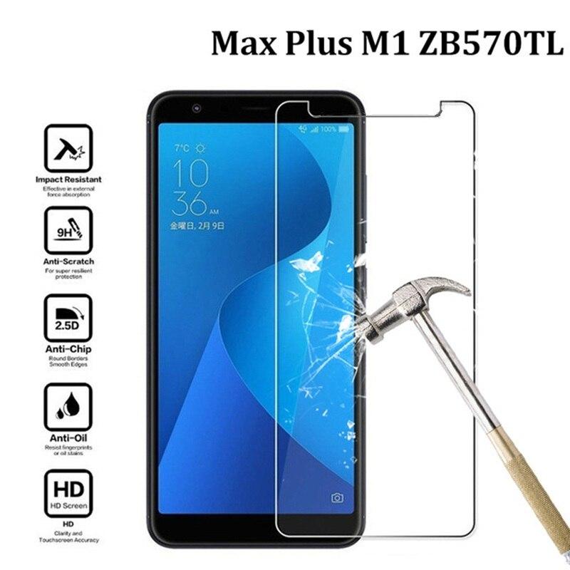 Para vidrio templado Asus ZenFone Max Plus M1 Protector de pantalla HD...