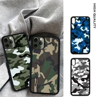 camouflage pattern camo military soft tpu hard pc mobile phone case cover for samsung s9 s10 s20 plus s21 s30 ultra s7 s8 s10e