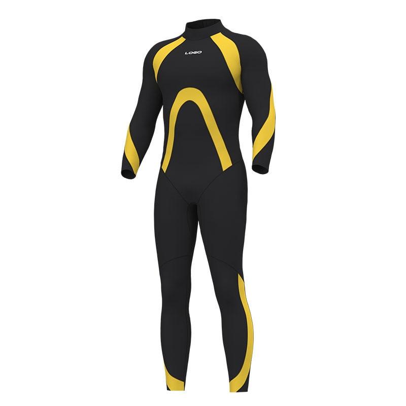 Men's 3MM Neoprene One Piece Professional Keep Warm Snorkeling WetSuit Scuba Full Body Spearfishing Surfing Swimming DivingSuit