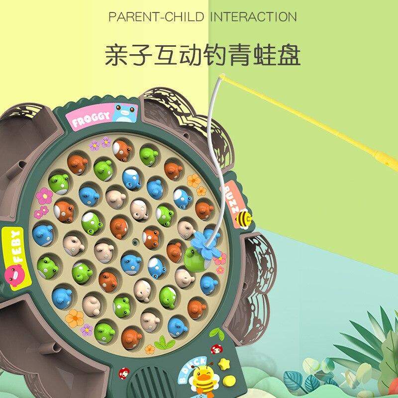Детские игрушки для рыбалки, электрический музыкальный светильник для водного цикла, Детские Игрушки для ванны, детские игровые Игрушки дл...