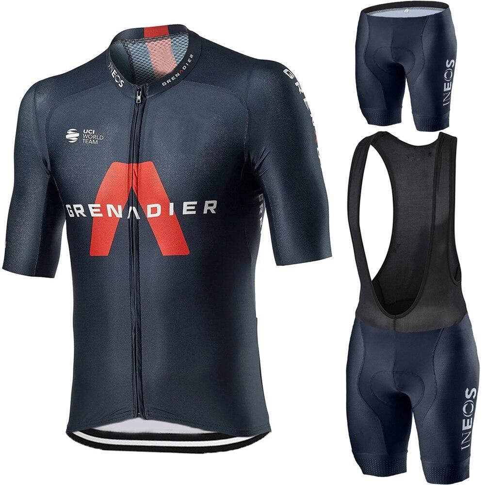 2020 INEOS Grenadier Radfahren Jersey Set männer Radfahren Kleidung Rennrad shirts Anzug Fahrrad Bib Shorts MTB Tragen Maillot culotte