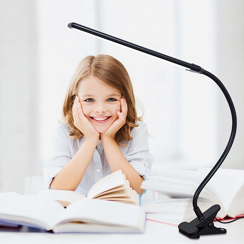 New creative led multifunctional learning desk lamp home folding usb eye protection desk lamp simple reading desk lamp