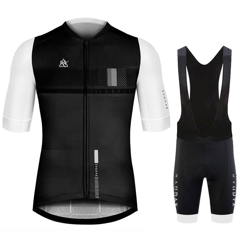STRAVA-Ropa para Ciclismo 2020 Pro Team, conjunto de camisetas de manga corta para Hombre, Maillot para Ciclismo de montaña
