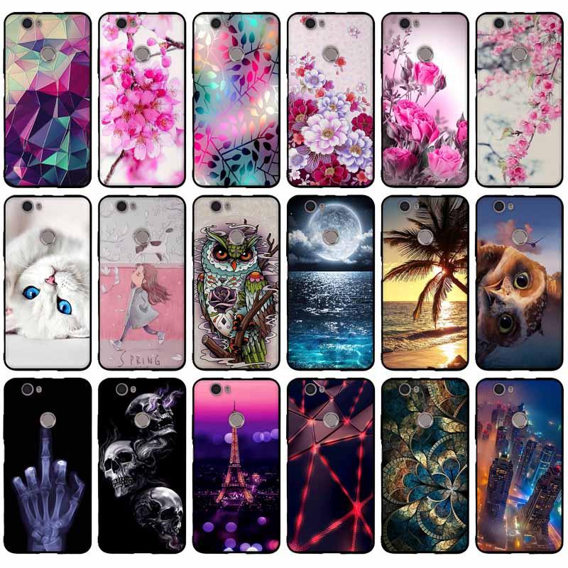 "Case Cover Voor Huawei Nova CAN-L12 CAN-L11 CAN-L01 CAN-L02 CAN-L03 CAN-L13 CAZ-AL10 Case Cover 5.0 ""Soft Tpu Silicon Telefoon gevallen"