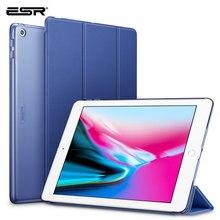 ESR étui pour iPad 9.7 2017 couverture Yippee couleur cuir PU + Ultra mince léger PC couverture arrière étui pour nouvel iPad 2018 9.7 pouces