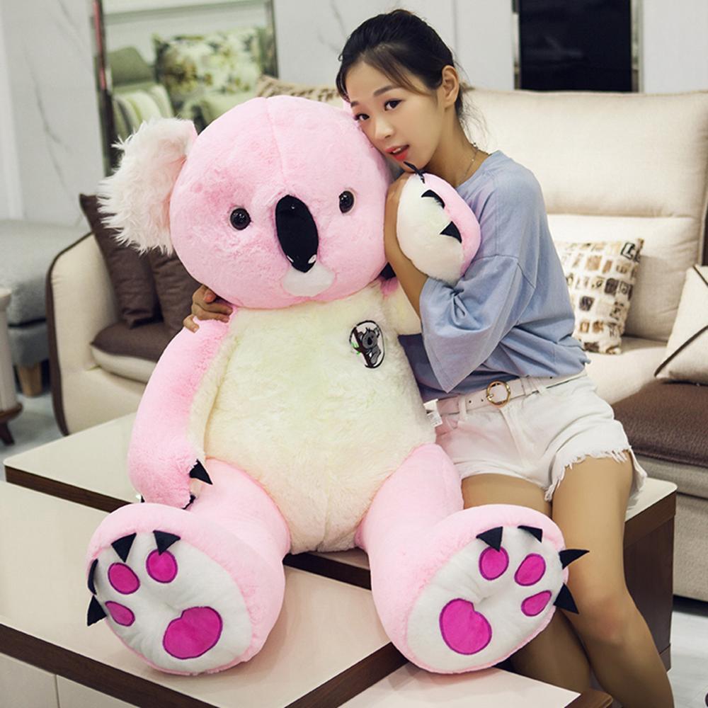 Koala grande gigante de peluche, Koala suave de peluche, muñeco de oso, juguetes para niños, regalo de cumpleaños para niñas