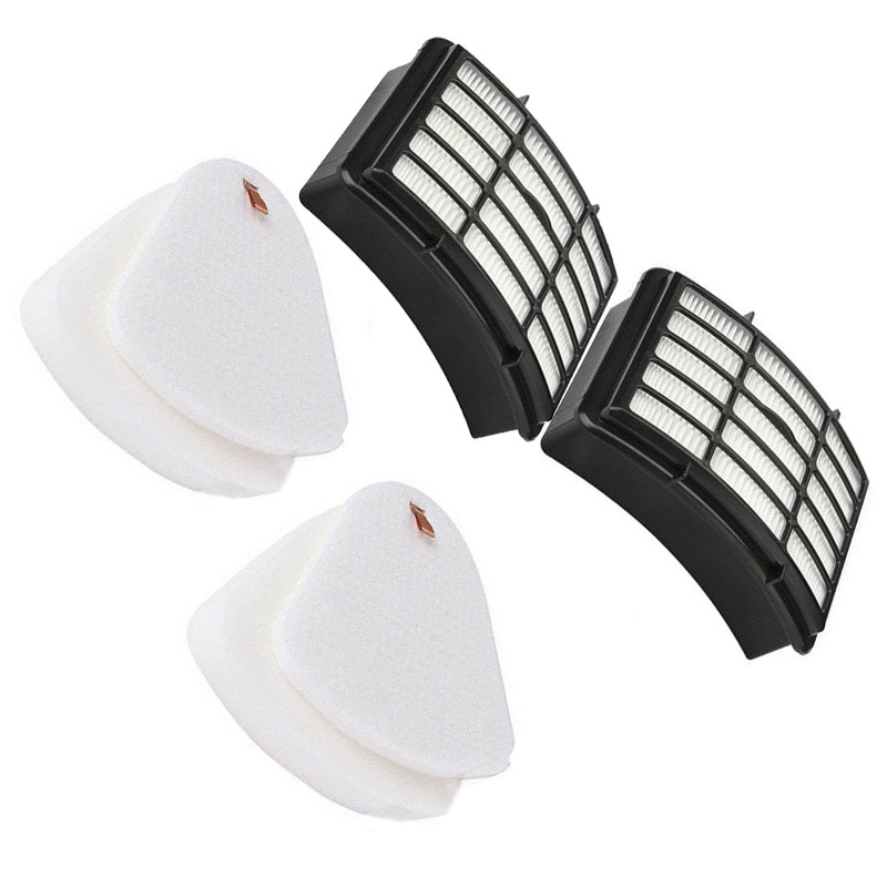 Set de 6 Uds de filtros de aire de fieltro/esponja para aspiradora Shark Navigator Lift Away NV350, NV351, NV352 piezas para electrodomésticos