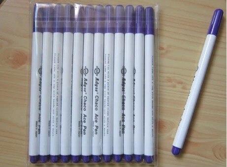 Diy Инструменты Adgar Chaco Ace ручка Водорастворимая стеганая ручка фиолетовый цвет 12 Лот