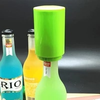automatic beer bottle opener beverage bottles wine soda cap push down magnet corkscrew removing tool kitchen bar accessories