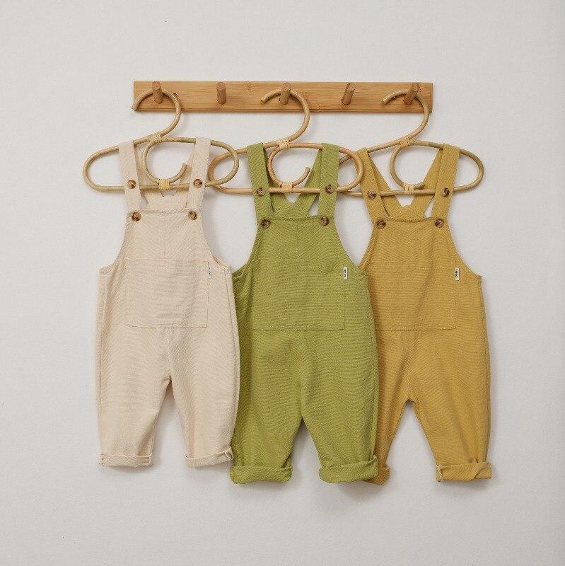 2020 nuevo primavera niños mono de niñas de moda mono niños pantalones casuales niños Pantalones Bebé niña mono