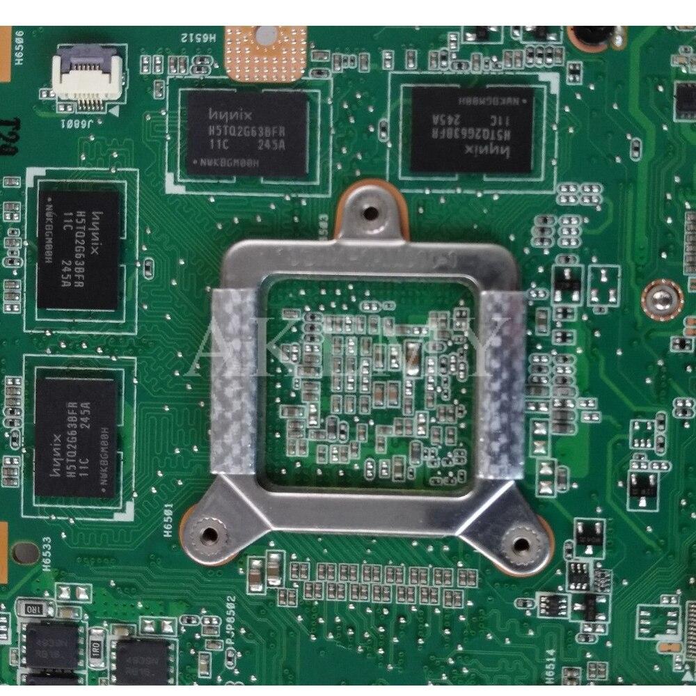 K53SV Laptop motherboard For Asus K53SM K53SC K53SJ K53S A53S original mainboard K53SV REV2.1/2.3/2.4   GT540M 2G 8*Memory