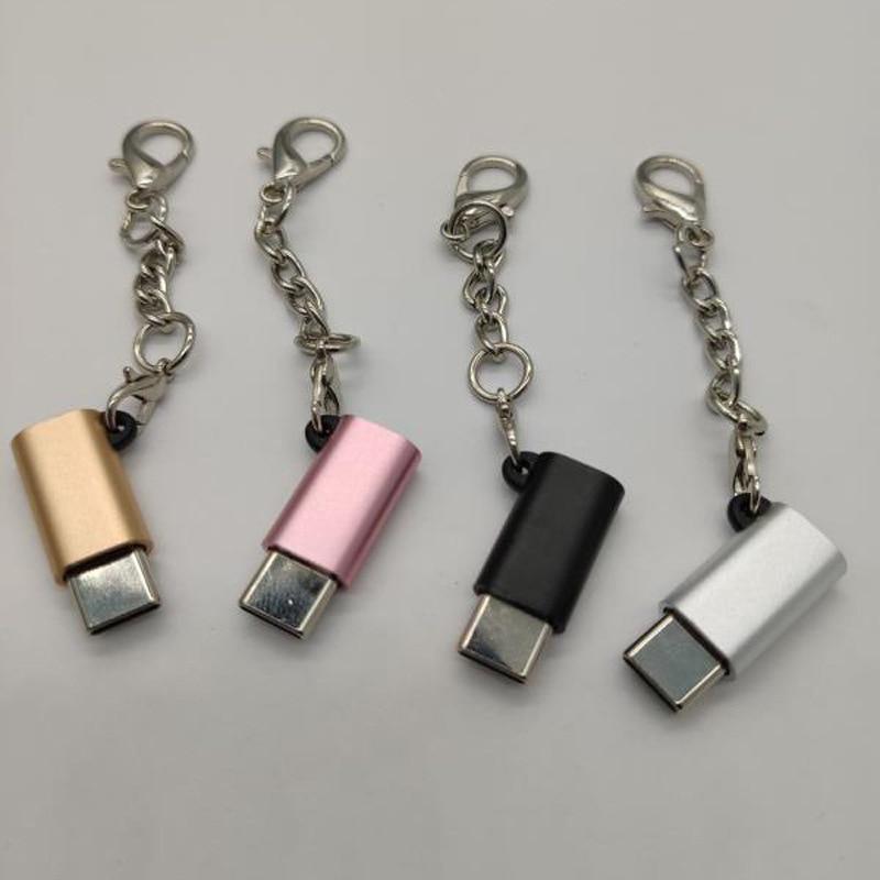 Adaptador Micro USB hembra a USB macho, convertidor para Huawei Mate 20 X Pro P20 P30 Samsung S9 S10 Plus, Micro Usb a cargador tipo C