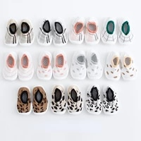 spring and autumn toddler boys and girls baby socks shoes kids soft soled shoes non slip breathable fashion baby boots flats