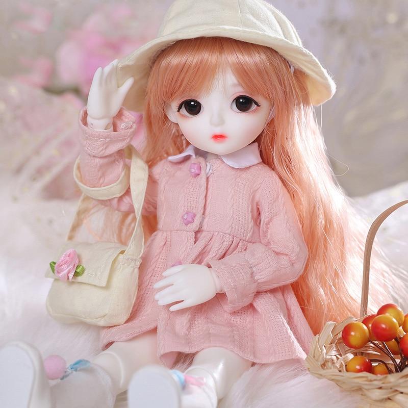 New arrival Baby Miu 1/6 bjd sd doll Fashion Mini toys For Girls Birthday Xmas Best Gifts  LCC