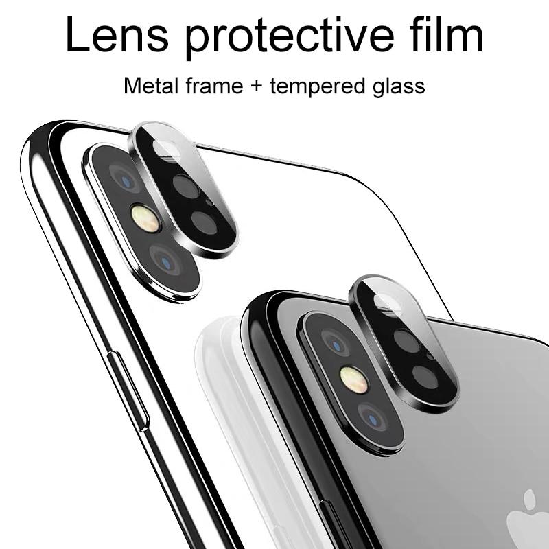 Cristal Protector de la Lente de la cámara trasera para el iphone 11 x xr xs max vidrio templado flim protection glass en iphone 11 Pro MAX