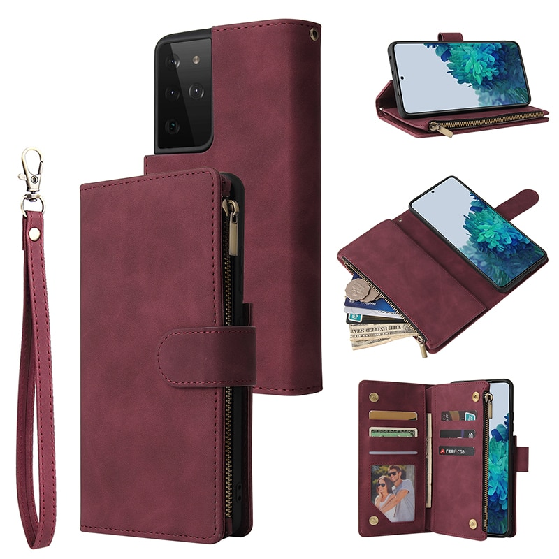 Long Clutch Card Holder Large Capacity Wallet Female Purse Phone Pocket Zipper Wallet Phone Case for