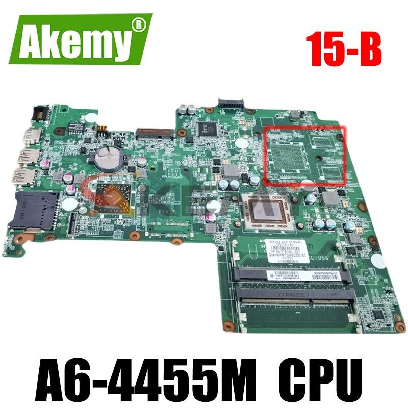لوحة أم للكمبيوتر المحمول HP بافيليون 15-B 709174-501 709174-001 DA0U56MB6E0 A6-4455M 100% تم اختبارها بالكامل